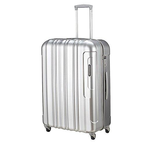 March 15 Trading Cosmopolitan 4-Rollen-Trolley 77 cm silver alu