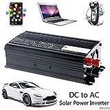 SLB Works Solar Power Inverter 12V DC to 110V AC Modified Vehicle USB