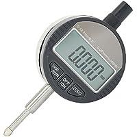 Gazechimp Marcador Digital LCD Medición de Micrómetro de Rango 0,001mm 0-12,7mm para Automoviles
