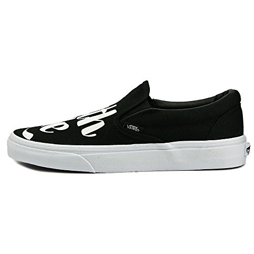 Vans Baron Von Fancy Nero/Bianco Classic Slip On Sneaker Nero