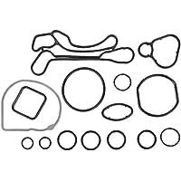 Junta del enfriador de aceite del motor, 15 piezas Junta tórica del sello de la junta del enfriador de aceite del motor 55354071