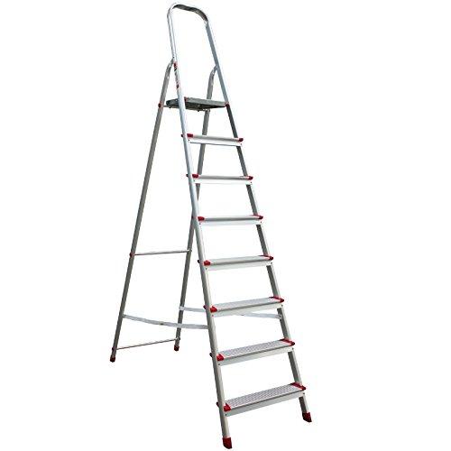 Stufenleiter Aluminium 8 Stufen 41JH008