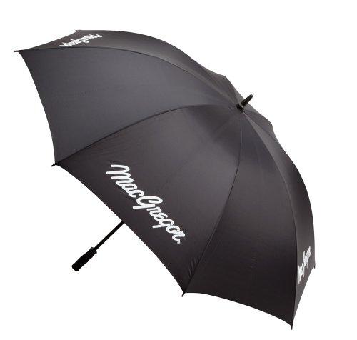 Macgregor Erwachsene Golfschirme 66 Soll Single Canopy Umbrella, Black, One size, MACGUMB002-5055286220227