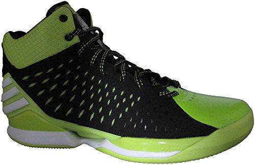 Nuovo Adidas No Mercy 2014 scarpe da basket nero / bianco / solare Slime 8 Black/Running White/Solar Slime