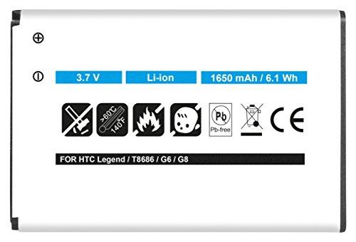 Akku kompatibel zu HTC Touch Pro 2, HTC Snap T7373 T7377 HTC T7378 T-Mobile MDA Vario V - ersetzt BA S390 Li-Ion