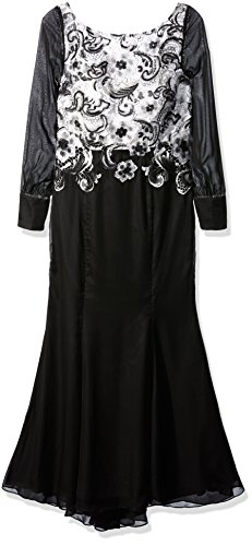 Ever Pretty Robe de soir¨¦e longue de style fishtail et dos nu 08363 Noir