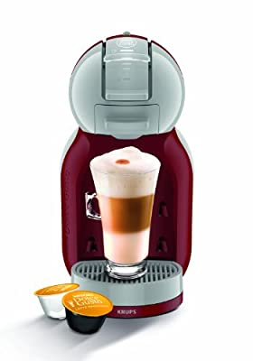 NESCAFE Dolce Gusto Mini Me Automatic Coffee Machine Grey by Krups - Red/Arctic from KRUPS
