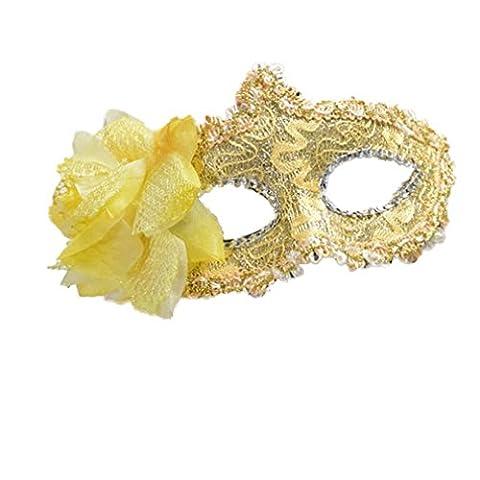 Costumes Masquerade Princesse - YAZILIND Sexy de dentelle style strass bouclier