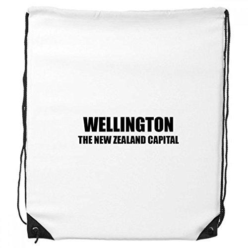 DIYthinker Wellington Die neuseeländische Hauptstadt Rucksack-Shopping Sport Taschen Geschenk