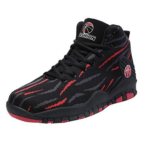 ABsoar High-Top Basketballschuhe Herren Mode Sneakers Damping Rutschfeste Gymnastikschuhe Outdoor Traillaufschuhe Verschleißfeste Sport Laufschuhe