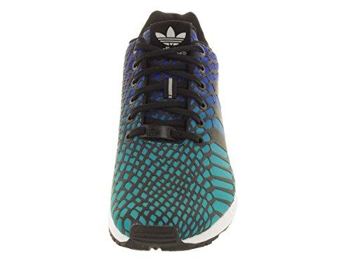 Adidas Zx Flux Shogrn / cblack / Course ftwwht Shoe 8.5 nous Shogrn/Cblack/Ftwwht