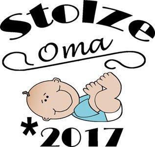 Mister Merchandise Ladies Damen Frauen T-Shirt Stolze Oma - 2017 Tee Mädchen bedruckt Royal
