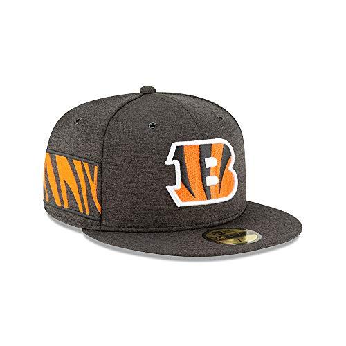 New Era NFL Cincinnati Bengals Authentic 2018 Sideline 59FIFTY Home Cap, Größe :7 1/4