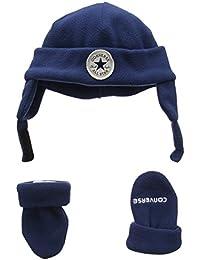 Converse Micro Fleece Set, Conjunto para Bebés, Azul (Navy), Talla Única (Talla del Fabricante: One Size)