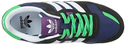 adidas Originals Zx 700 Unisex-Kinder Low-Top Blau (Midnight Indigo F15/Ftwr White/Core Black)