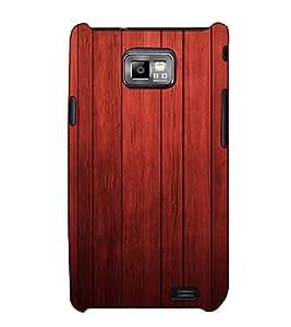 Fuson Designer Back Case Cover for Samsung Galaxy S2 I9100 :: Samsung I9100 Galaxy S Ii (Designer strip pattern)