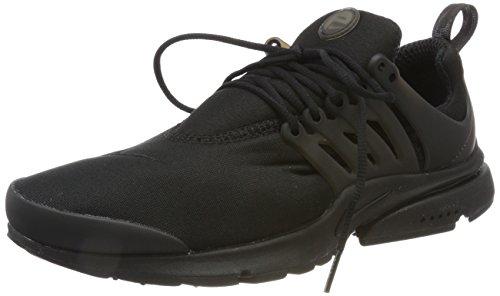 Nike Air Presto Essential, Baskets Homme, Noir (Noir), 44 EU