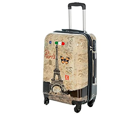 Valise bagage cabine 50cm - Trolley ABS ultra Léger - 4 roues pour voler avec EasyJet - Ryanair torre
