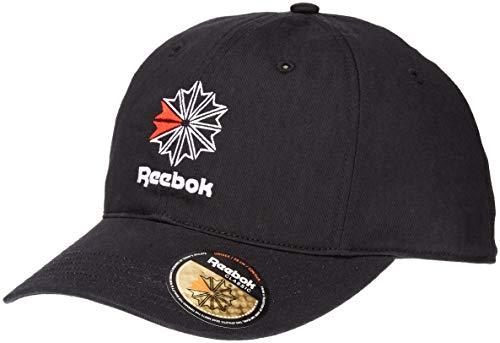 Reebok Herren Snapback Caps Classic schwarz Verstellbar -