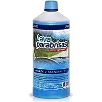 Sisbrill Lavaparabrisas Conc. 1:20 con Repelente Lluvia | Elimina Polvo e Insectos |