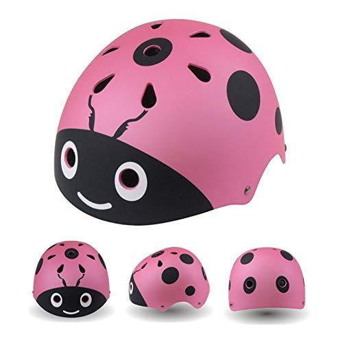 Nicololfle Baby Nutty, Fahrradhelm für Kinder und Babys (Pink)