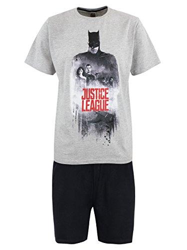DC Comics Pijama para Hombre Justice League Multicolor...