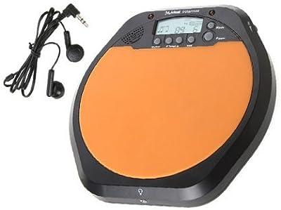 DN Práctica Drum LCD Digital Ejercicio de Entrenamiento Drummer Drum Pad Metrónomo