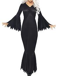Vestido de fiesta de Halloween de las mujeres Vestido de Boho gitano Vestido largo de la