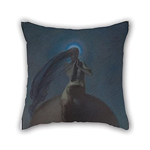 Throw Pillow Case Of Oil Painting Bernard Hall - The Quest 16 X 16 Inch / 40 By 40 Cm,best Fit For Kitchen,couch,bar Seat,drawing Room,son,floor Two Sides