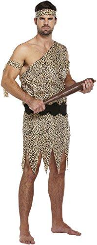 Costume Fancy Dress Cavernicolo Adulti (Marrone)