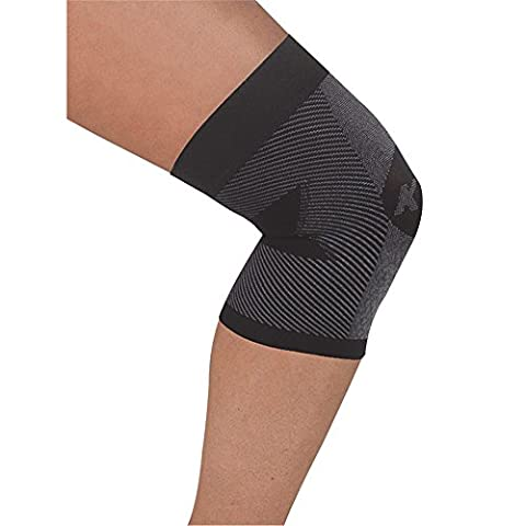 Orthosleeve® KS7 Knee Sleeve | Exclusive 7 Zone Compression Technology | Runners Knee, Patellar, ITBS, Swelling & Arthritis Pain Relief | Moulds to Knee Shape | Lightweight | Boosts Circulation | 30 Day Guarantee