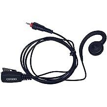 Coodio Motorola CLP446 CLK446 Radio Auriculares Elite Swivel Micro-Auricular Micrófono Microfono Seguridad y Bodyguard Para Motorola CLP446 CLK446