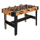 ColorBaby- Futbolín juego en equipo de madera CBgames, 121 x 61 x 79 cm (85334)