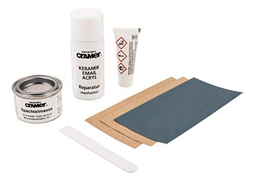 5 Keramik - (Sanitop-Wingenroth 66106 5 Reparatur-Set für Keramik,Email und Acryl, manhattan, manhatten)