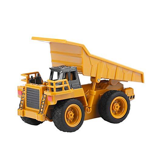 RC Baufahrzeug kaufen Baufahrzeug Bild 1: Alomejor RC Bauwagen, Mini DIY Baufahrzeug RC Bagger Truck Bagger Kits Baustein Spielzeug(Kipper)*