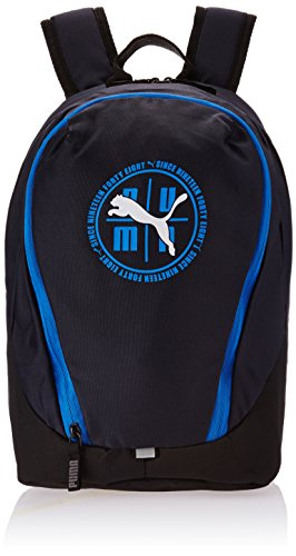 PUMA Echo Backpack - Mochila, color azul / negro / blanco