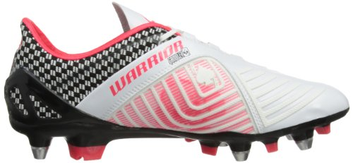 Warrior Gamb Pro Sg, Chaussures de Football homme Blanc/rose néon