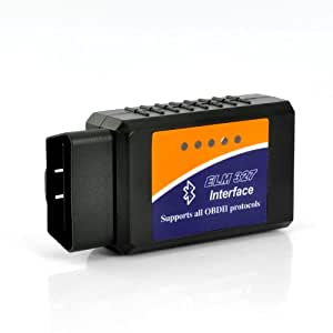 SHOPINNOV Outil de diagnostic auto OBD2 Bluetooth pour Windows