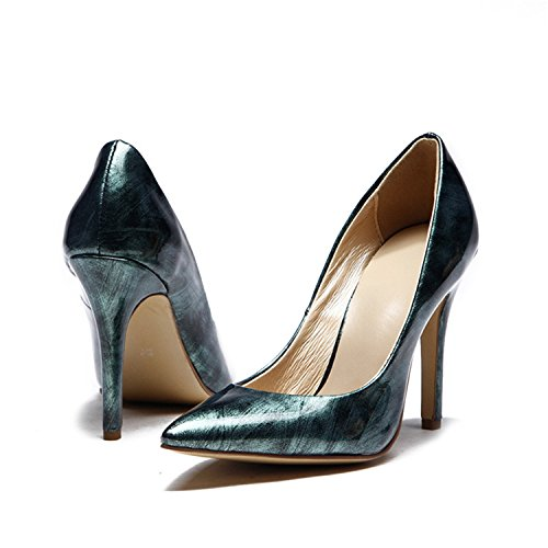 Kevin Fashion , Sandales Compensées femme Vert - vert