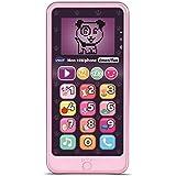 VTECH- Telephone EMOTI'FUN Rose Jouets ELECTRONIQUES EDUCATIFS, 80-603755, Multicolore - Version FR