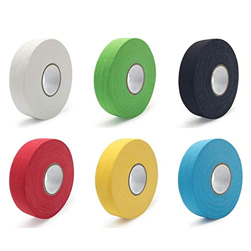 hinffinity Hockey Antiscivolo Nastro Hockey su Ghiaccio e Nastri Nastri protettivi per Hockey Cue Tape Perfetto per Hockey Rod Hockey Stick e The