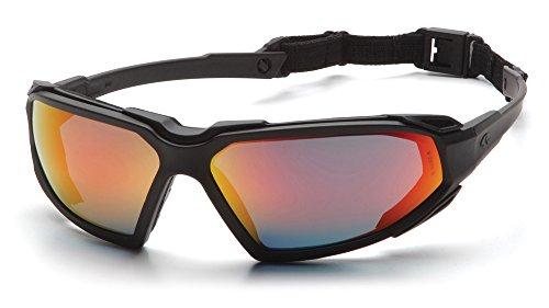 Pyramex Safety Produkte esbb5055dt Highlander Sicherheit Eyewear, 0,054kg Gewicht:, Sky rot