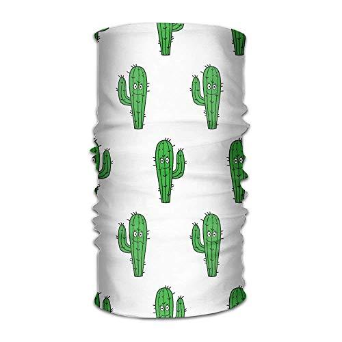 YVSXO Headbands Headwear Bandana Cactus Pattern Scarf Wrap Mask Sweatband Outdoor Headscarve