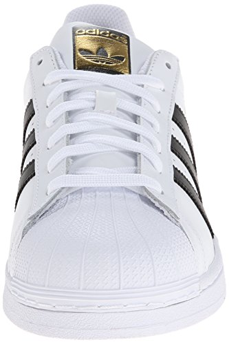 Adidas Superstar White Black Mens Trainers Weiß (Ftwr White/Core Black/Ftwr White)