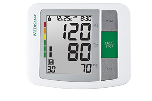 Medisana BU 510 Oberarm- Blutdruckmessgerät 51160, mit Arrhythmie-Anzeige, mit WHO Ampel-Farbskala, für eine präzise Blutdruckmessung - 2