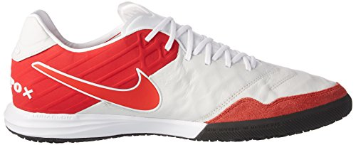 Nike Tiempox Proximo Ic, Chaussures de Football Homme Blanc (Summit White/university Red/white/black)