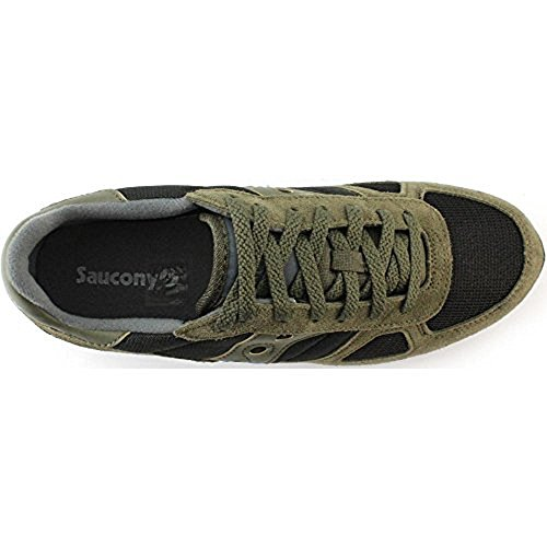 Saucony Shadow Original, Chaussures de Gymnastique Homme Bleu (Olive Black)