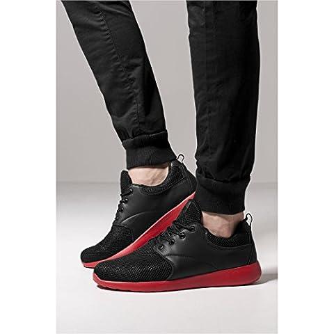 Light Runner Shoe blk/firered
