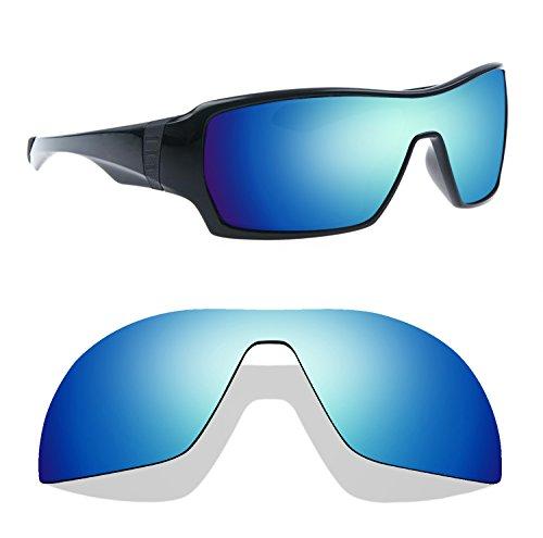Littlebird4 1,5mm Polarisiert Ersatz Linsen für Oakley Ableger Sonnenbrille-Mehrere Möglichkeiten, Ice Blue Mirror