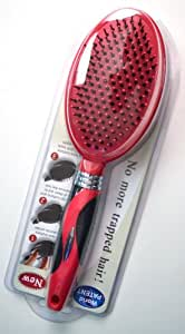 Q-Brush Self-Cleaning Hair Brush - Pink Cushion Brush - Easy to Clean & Use - Waterproof - Lifetime Warranty